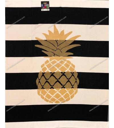 Telo Mare Matrimoniale Golden Ananas