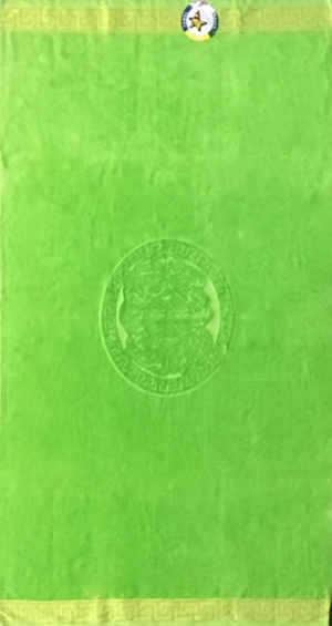 Telo mare Poseidone Verde Lime