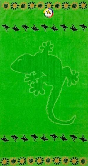 Telo mare Power Geco Verde