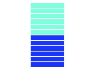 Telo mare Righe Larghe Blu