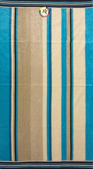 Telo mare Righe Vertical Azzurro
