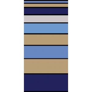 Telo Mare Stripe Degrade' Blu