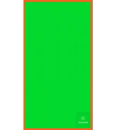 Telo Microfibra Bicolore Verde