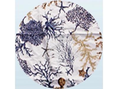 Telo Microfibra Stampato Corallo Lilla