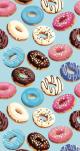 Telo Microfibra Stampato Donuts