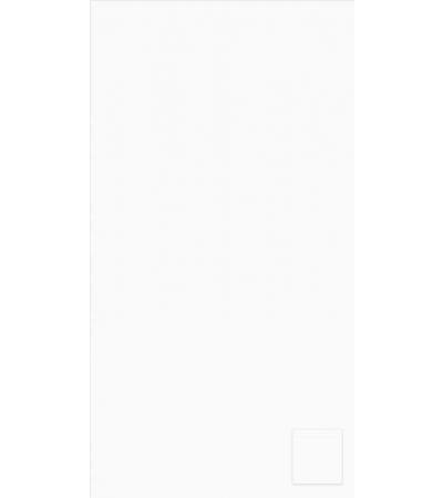 Telo Microfibra Tinta Unita Bianco