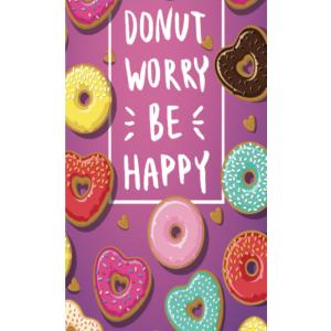 Telo Stampato Donuts Fucsia