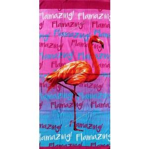 Telo Stampato Flamingo