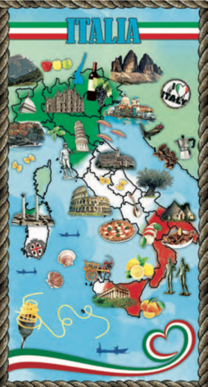 Telo Stampato Italia