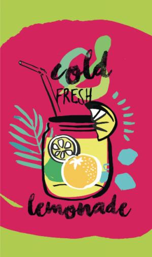 Telo Stampato Lemonade