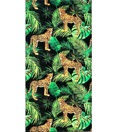 Telo Stampato Leopard