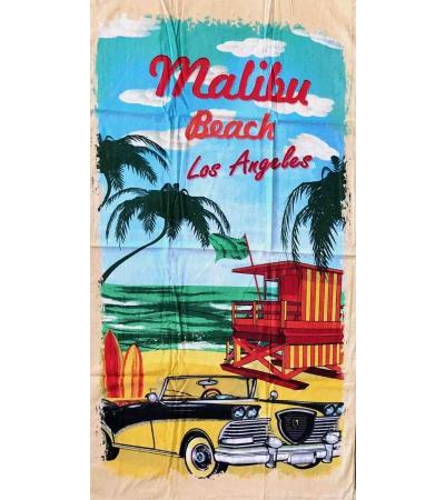 Telo Stampato Malibu Beach