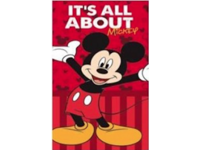 Telo Stampato Mikey Mouse