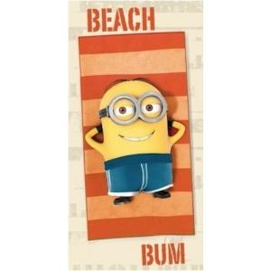 Telo Stampato Minion Beach