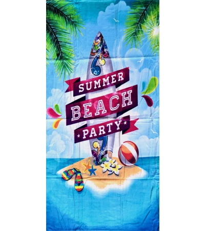 Telo Stampato Summer Beach